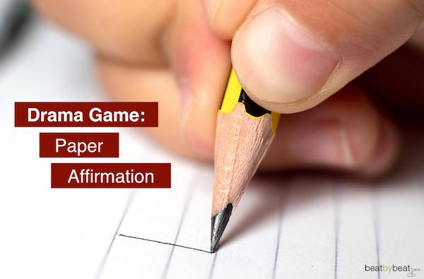 Ensemble Building Activity Paper Affirmation