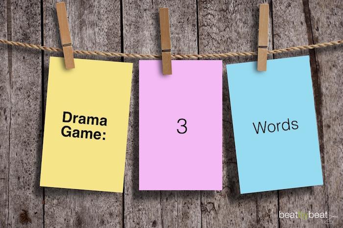 Drama Game 3 Words