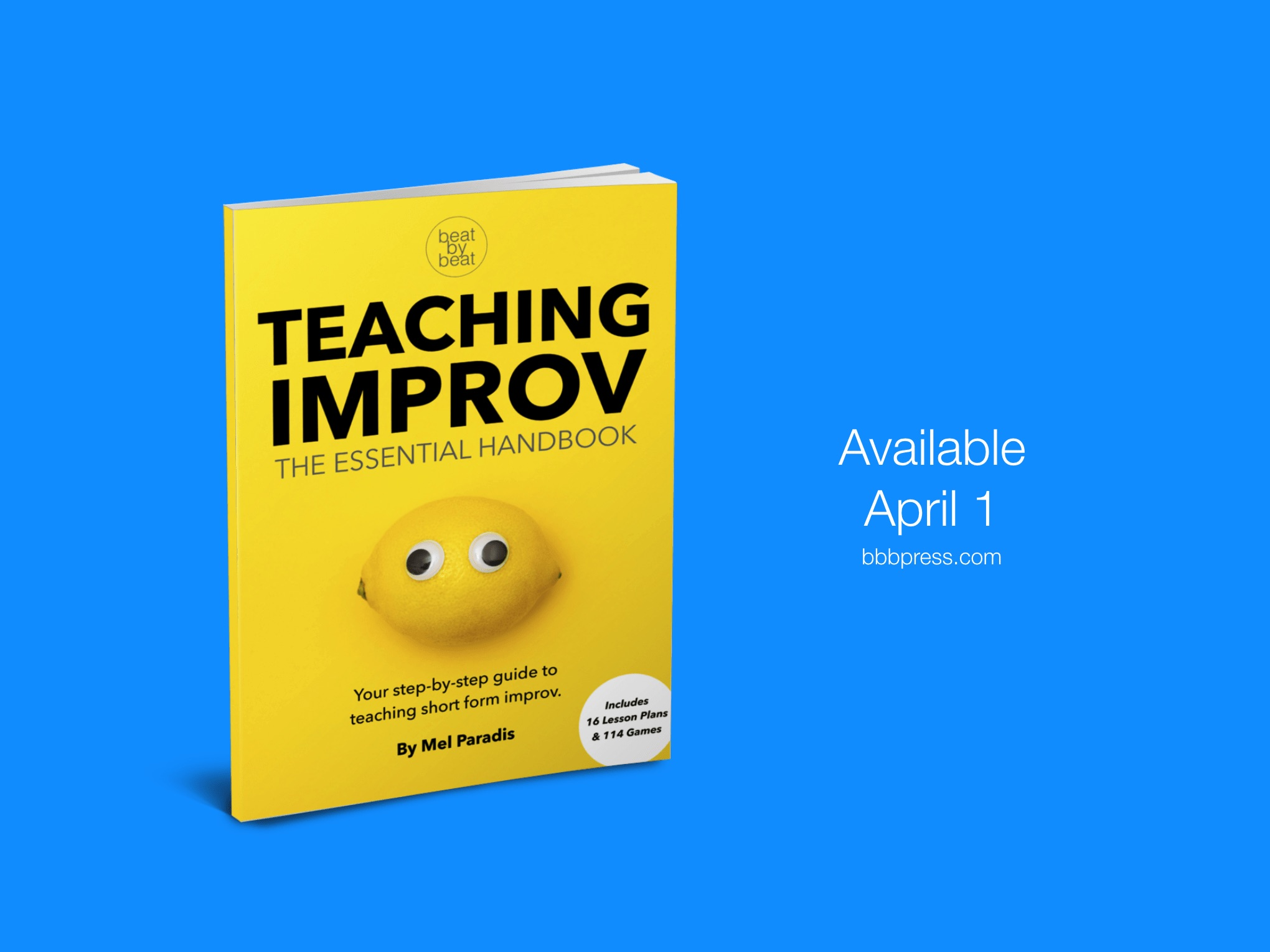 Lesson plans and improv games for kids.